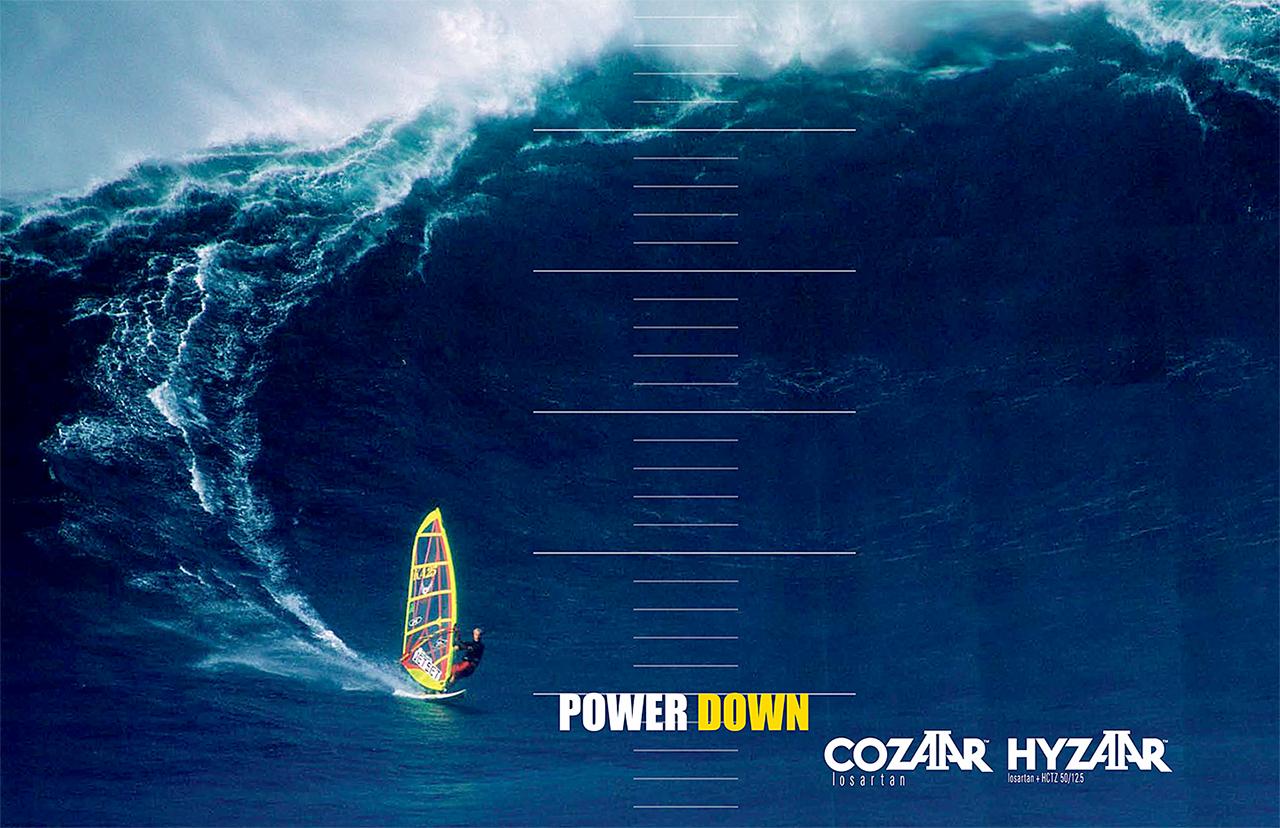 Merck Cozaar Hyzaar Ad Concept