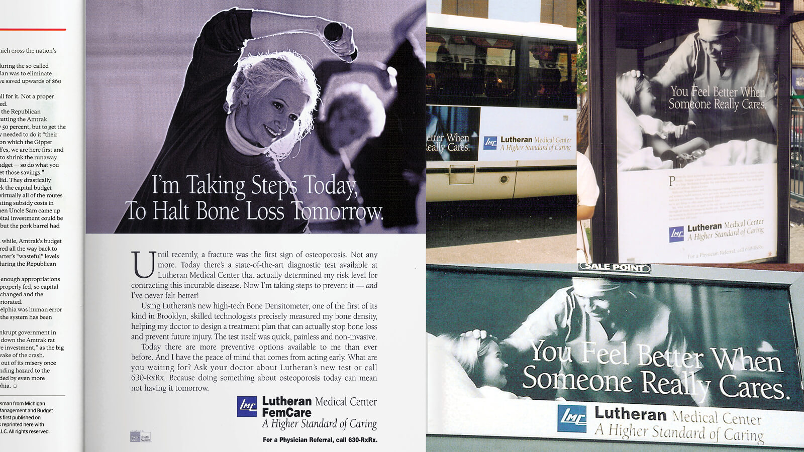 Lutheran Medical Center Higher Standard Ad Campaign