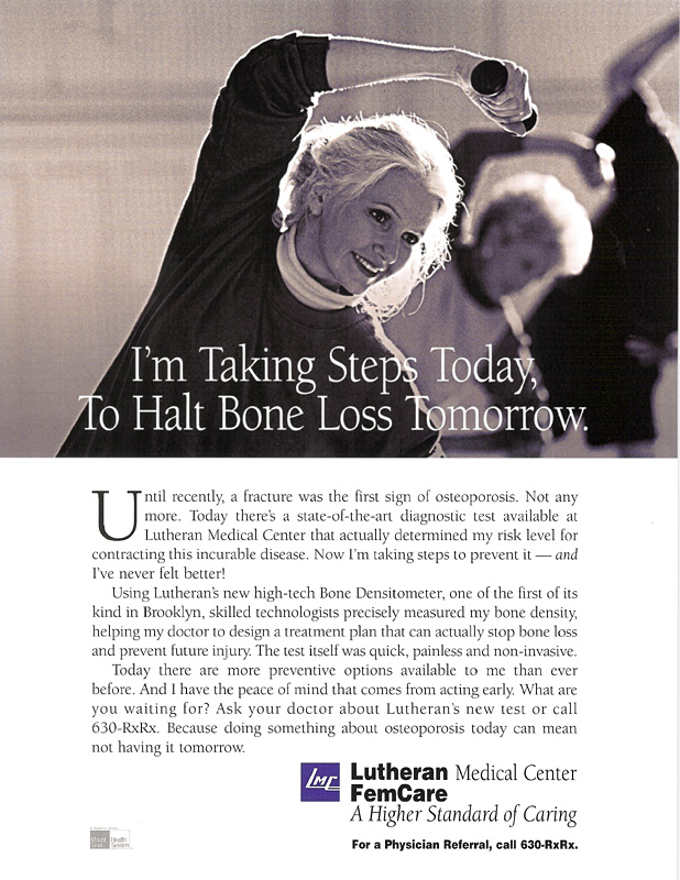 Lutheran Medical Center Print Ad