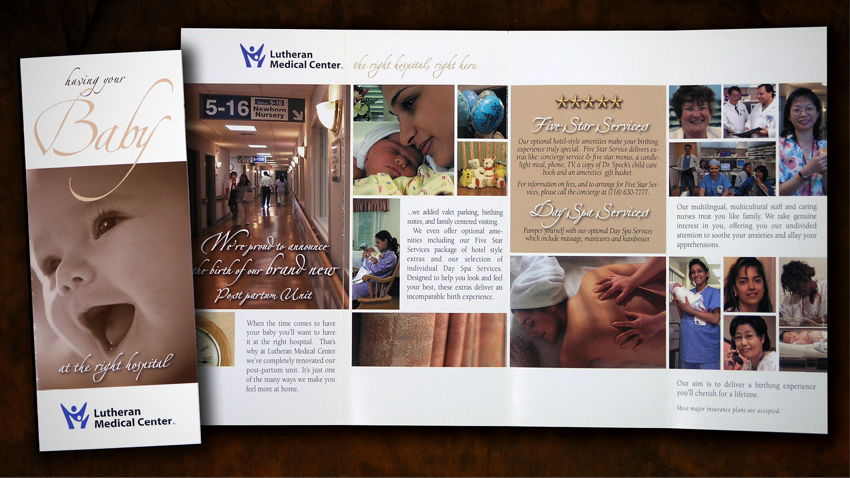 Lutheran Medical Center Post Partum Unit Brochure