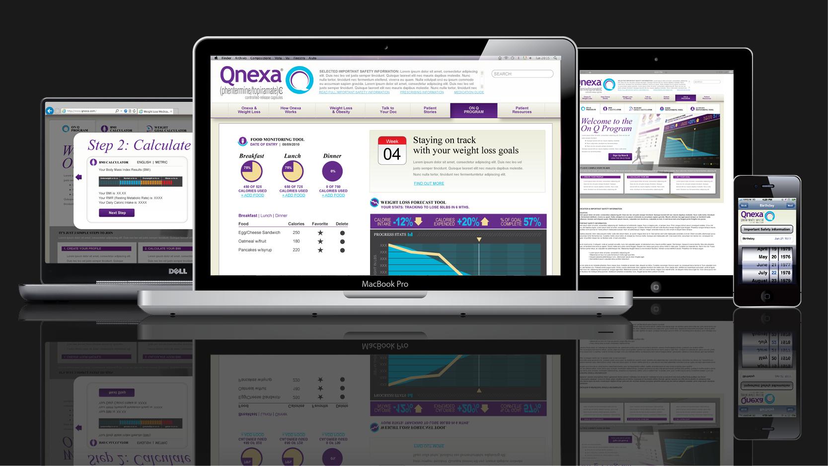 Vivus Qnexa Responsive Web Design