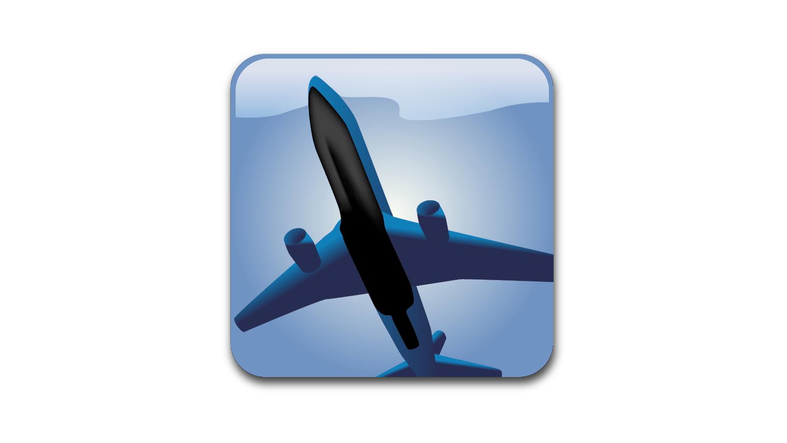Sustiva Plane Icon Concept