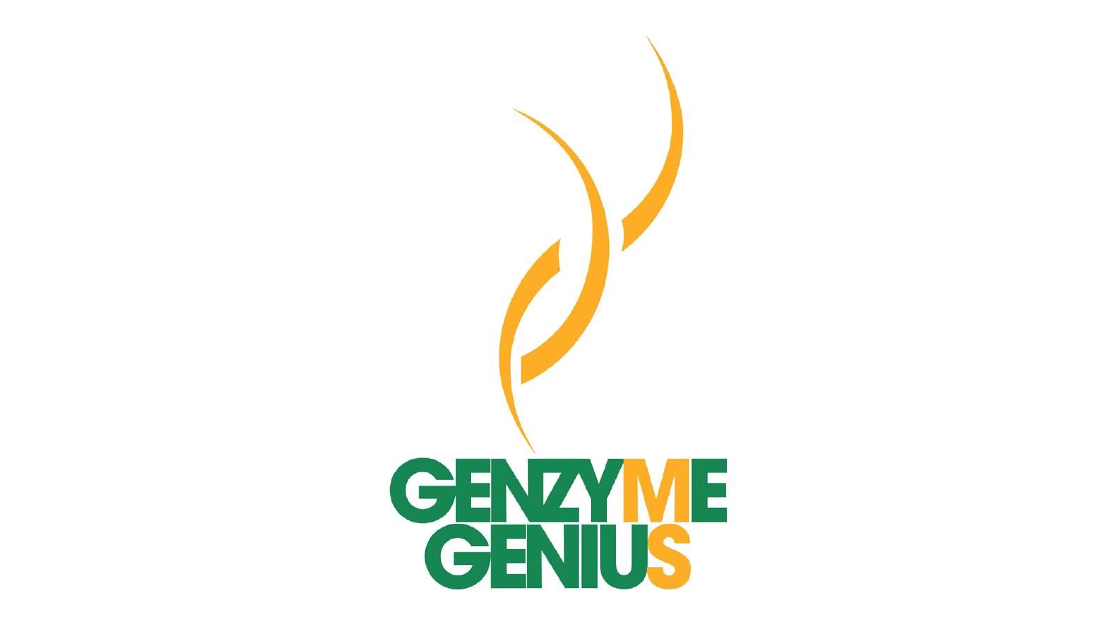 Genzyme Genius Award Flame Logo Concept