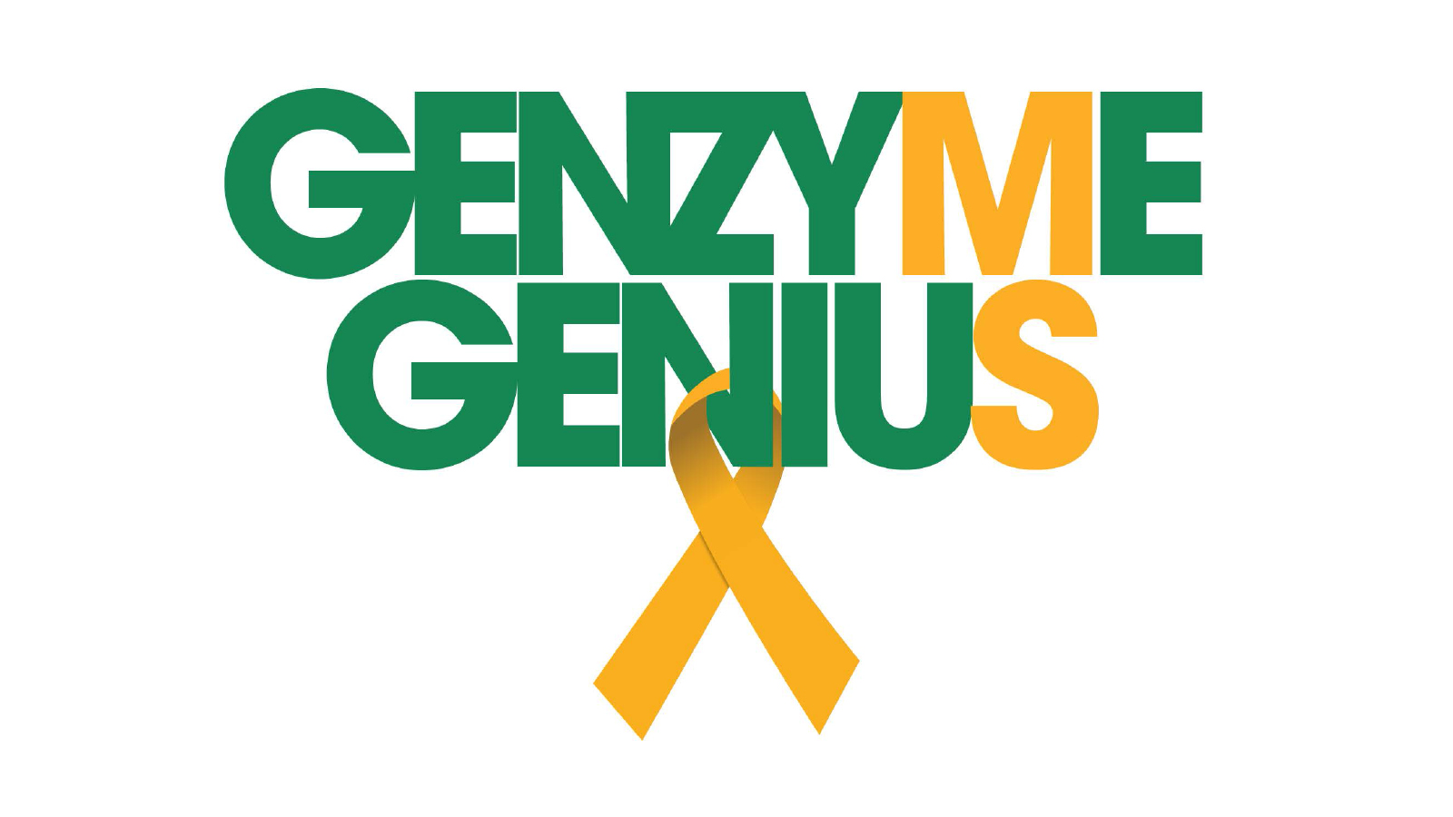 Genzyme Genius Award Ribbon Logo